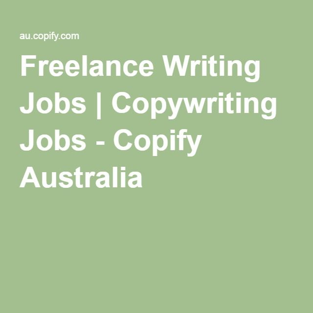 freelance writing jobs sydney