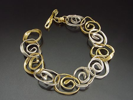 This is made by a friend of my Mom's Sana Doumet, her jewelry is GORGEOUS and I want nearly every piece!!!