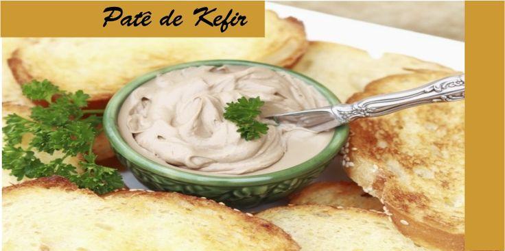 Faça um delicioso patê com iogurte de Kefir! Hoje vou dividir com vocês, uma…