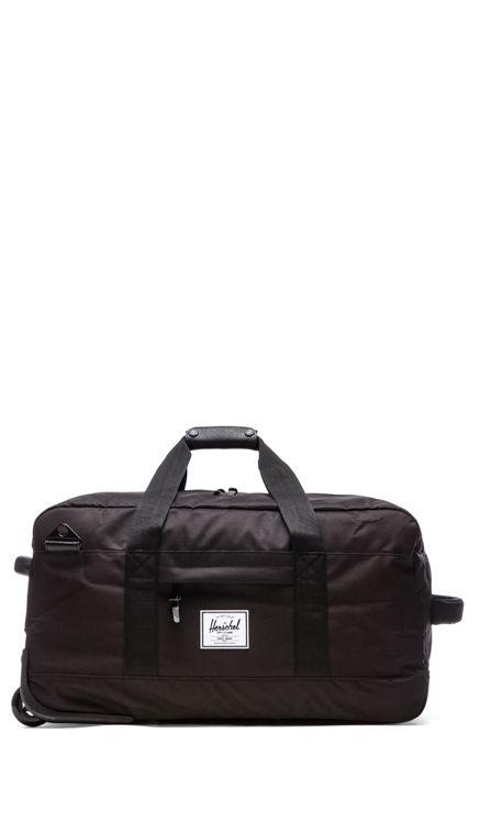Herschel Supply Co. Wheelie Outfitter in Black