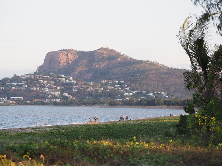 L1M1AS3 - Landscape - f/4.5, 1/160 sec, ISO-200.  Castle Hill from Rowes Bay, Townsville, QLD.