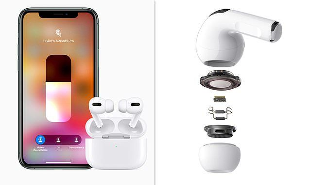 Apple Airpods Pro Boast Noise Cancelling And Immersive Sound For 249 Noise Cancelling Airpods Pro Noise