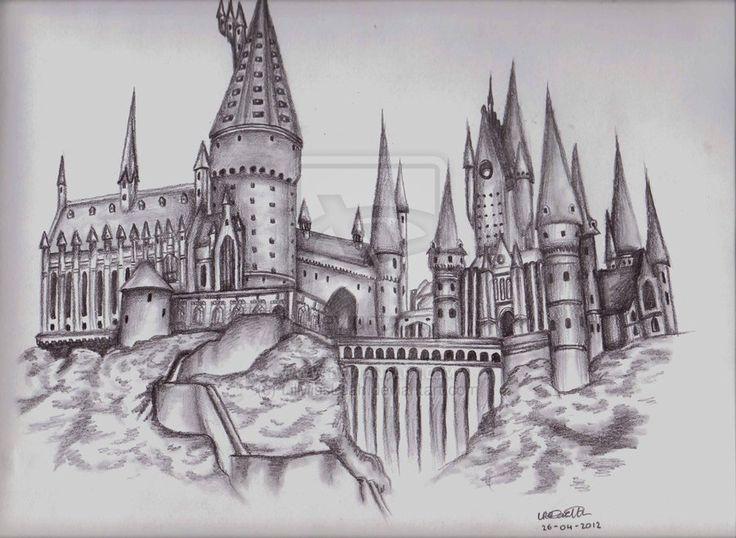 hogwarts drawing – Hledat Googlem – #desenho #drawing #Googlem #Hledat #hogwarts
