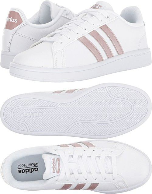 Adidas Performance Women's CF Advantage W, White/Vapour Grey/White ...