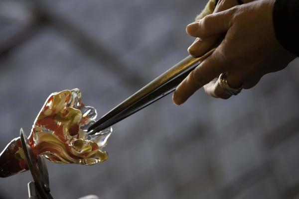 Graag zelf aan de slag met glas? Kom Bloesem Blazen tijdens het Paas- of Pinksterweekend!