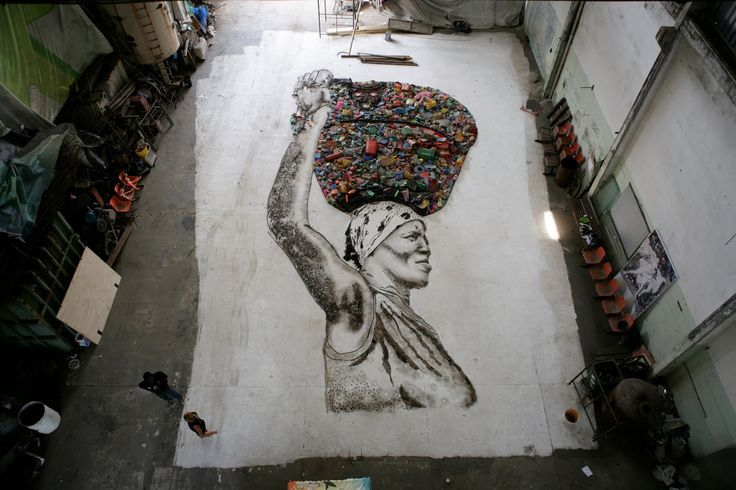 #Amazing #EwasteArt depicting the burden of #ewaste on developing countries.  The 2012 report by Geneva's International Labour Organization (ILO) found that 80% of the #electronic #waste marked for #recycling in developed #nations eventually end up being shipped to #Asian and African countries like China, Nigeria, Ghana, Pakistan, #India and Vietnam. Read more: http://goo.gl/pBN0gS