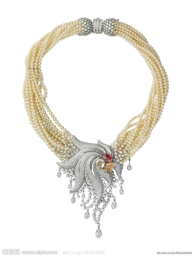 Cartier pearl necklace