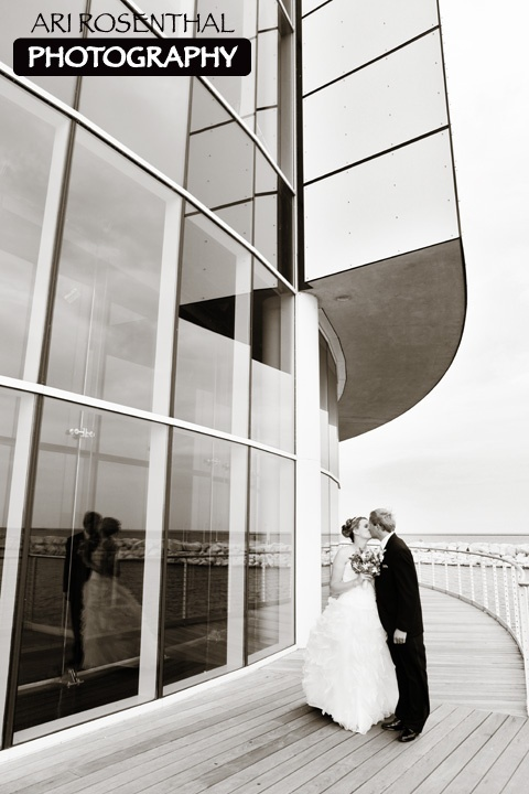 Sara Jim Discovery World Pier Wisconsin Arirosenthalphotography Wedding LocationsMilwaukeeWisconsinJim