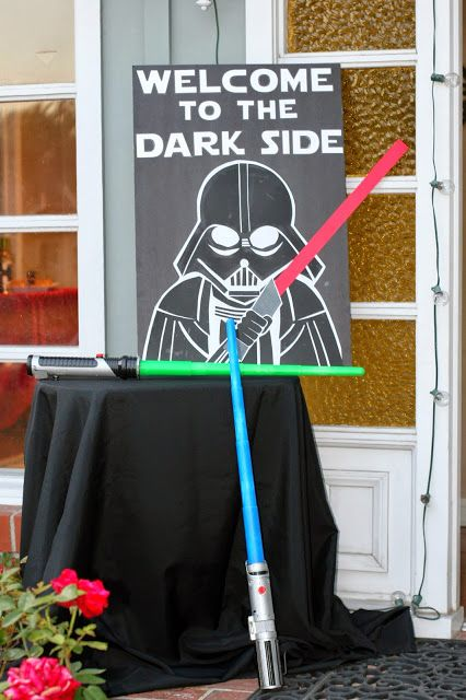 Sign and Hans Rolo  Invite and Delight: May the Fourth Be With You - Star Wars Party!