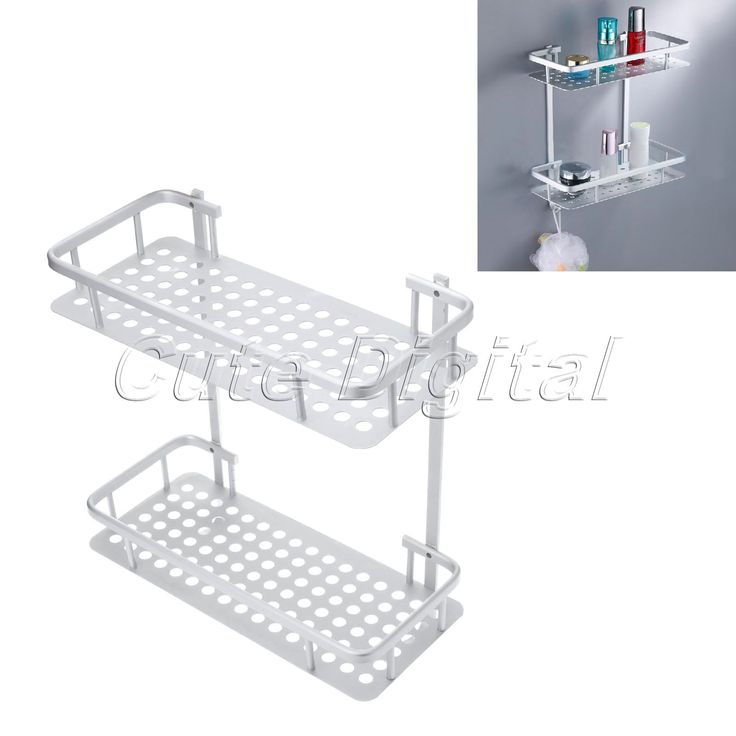 $38.32 (Buy here: https://alitems.com/g/1e8d114494ebda23ff8b16525dc3e8/?i=5&ulp=https%3A%2F%2Fwww.aliexpress.com%2Fitem%2FAluminum-Bathroom-Shelf-Shower-Shampoo-Soap-Bathroom-Storage-Organizer-Kitchen-Double-Shelf-Bathroom-Racks-w-Hooks%2F32611271902.html ) Aluminum Bathroom Shelf Shower Shampoo Soap Bathroom Storage Organizer Kitchen Double Shelf Bathroom Racks w/Hooks 36*31*14CM for just $38.32