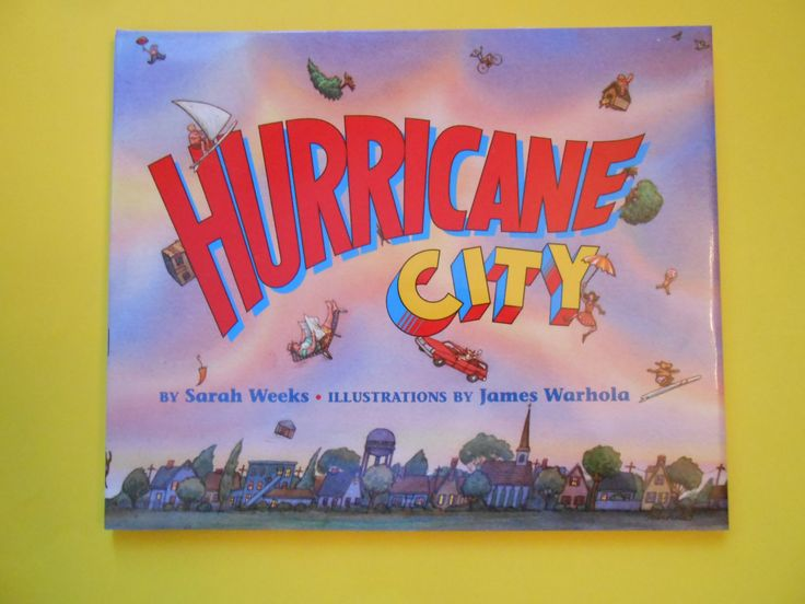 Hurricane City, a Vintage Children's Alphabet Book by Sarah Weeks by lizandjaybooksnmore on Etsy