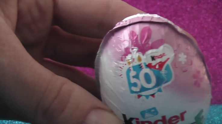 50th Kinder Surprise Anniversary for Girls