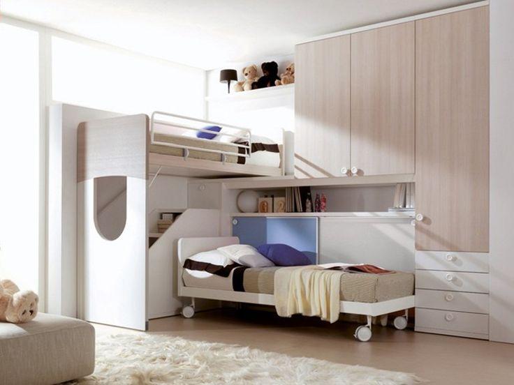 17 migliori idee su letti a soppalco a castello su for Letti a castello per 3 bambini