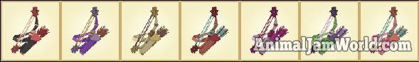 Rare Bow and Arrows   #AnimalJam #BowandArrows #Items #Rares http://www.animaljamworld.com/rare-bow-arrows-codes-how-to-get/