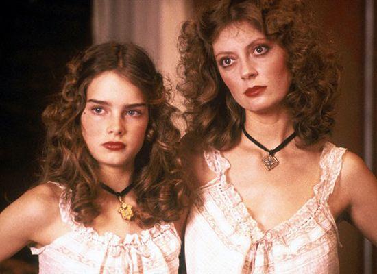 "✖✖✖ Susan Sarandon & Brooke Shields ""Pretty Baby (1978)"" ✖✖✖"