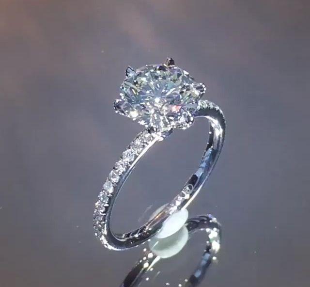 1539 best EngagementWedding rings images on Pinterest Diamond