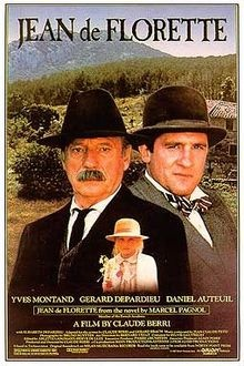 """The film of Marcel Pagnol's exquisite novel, """"L'eau des Collines"""" (The Water from the Hills, 1963), this is the story of city-dweller, Jean Cadoret who is determined to get the farm he inherits in Provence to work, while his neighbour, local farmer Ungolin, is determined that he won't. Exquisitely filmed. Jean de Florette - 1986"""