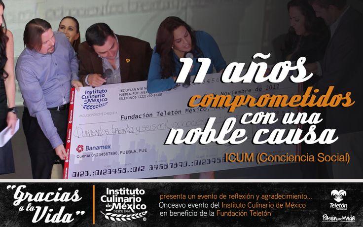 La generosidad no es dar lo que te sobra, sino lo mejor que tienes. Por esa razón, desde hace 11 años, el Instituto Culinario de México apoya a niños y jóvenes con discapacidad, autismo y cáncer.
