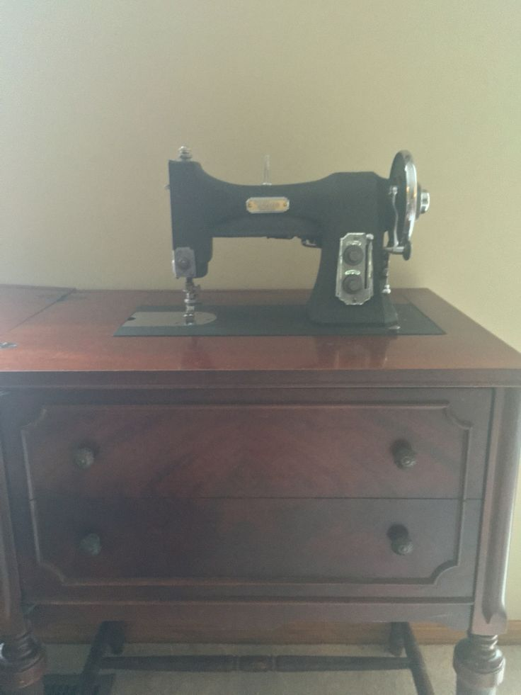 My White Rotary Electric Series 77 Antique Sewing Machine dated 1948-1955