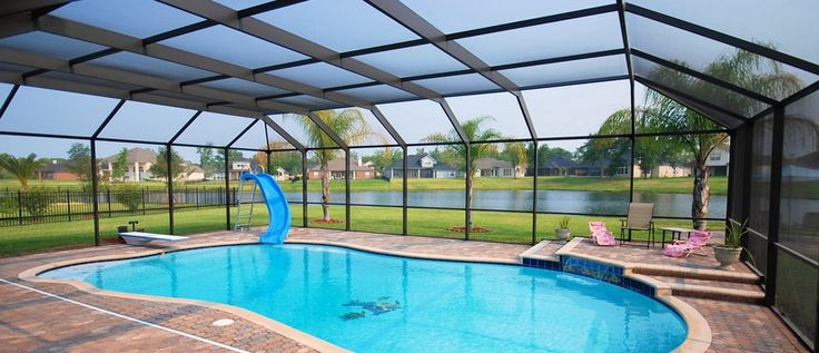 Best 25 pool enclosures ideas on pinterest swimming for Pool design jacksonville fl