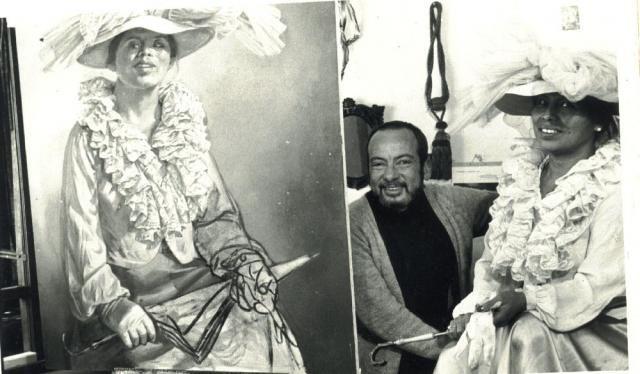 """his indigenous Model """"LUZ MARINA"""".(Enrique Grau Araujo-Pintor Colombiano ..."""