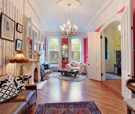 316 best Brownstone Decor images on Pinterest   Townhouse ...