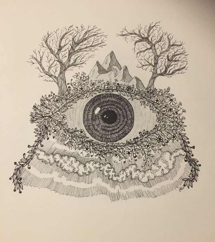 A personal favourite from my Etsy shop https://www.etsy.com/au/listing/551805038/mother-nature-eye-wall-art-print-of
