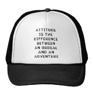 Attitude Difference Trucker Hat