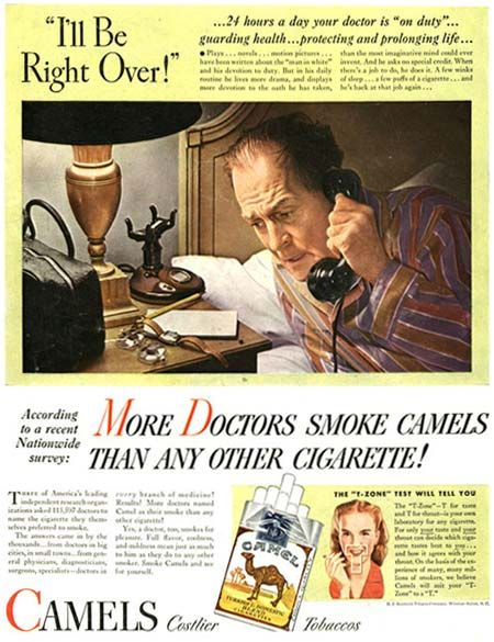 Not only did the Dr make a House Call in the middle of the night - but had a smoke on the way over.