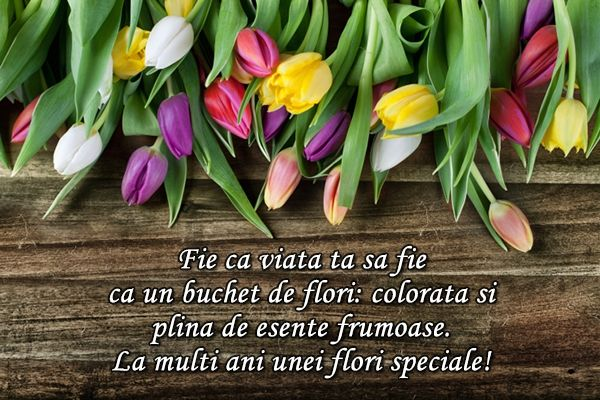 Felicitare de Florii
