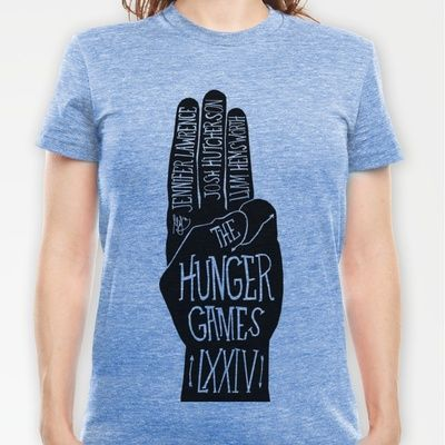 Okay now this is my favorite Hunger Games Shirt ever! This is awesome!
