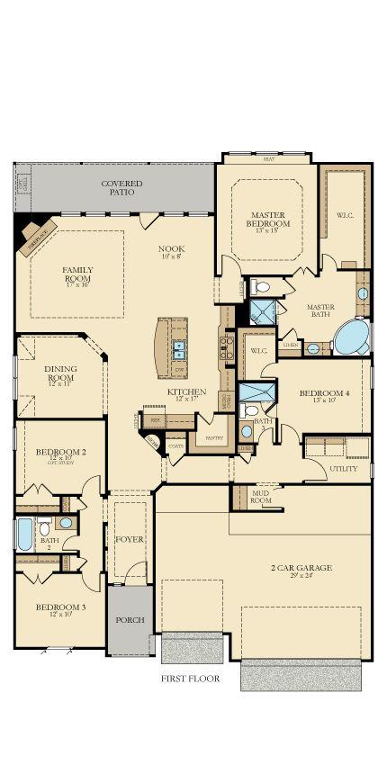 142 best Dream Floor Plans images on Pinterest | House