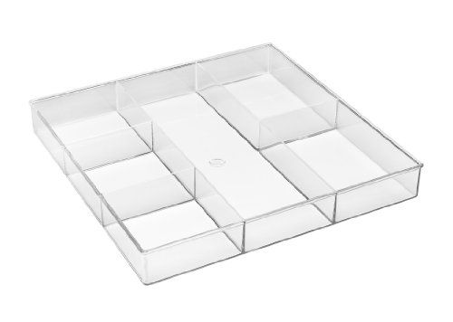 Whitmor 6789-3065 6-Section Clear Drawer Organizer, 2015 Amazon Top Rated Drawer Organizers #Home