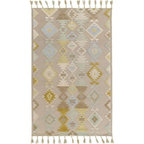 Surya TLL3000-810 Tallo 8' x 10' Rectangle Wool Hand Woven Transitional Area Rug - gray