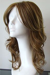 Long Hand Tied Wavy Cancer Wig, Chemo Wig, Wig for Cancer Patients #CancerWigsChicago