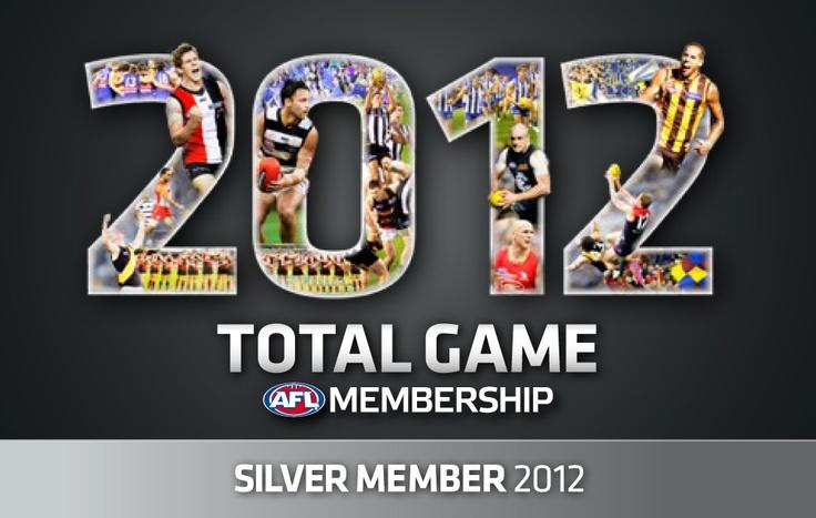 2012 membership card