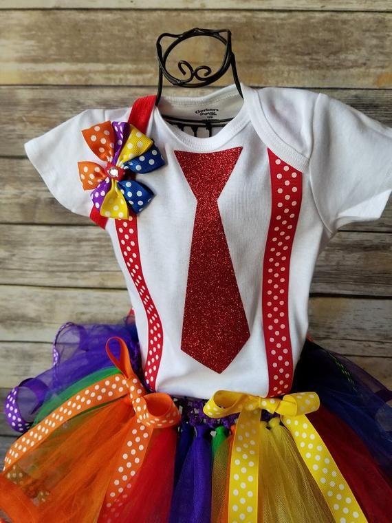 Le Ragazze Costume Completo Rainbow Dash Rainbow Tutu /& Rainbow Head Band per Travestimenti