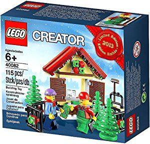 Amazon.com: Lego Creator Tree Stand 2013 Limited Edition Holiday Set 40082: Toys & Games