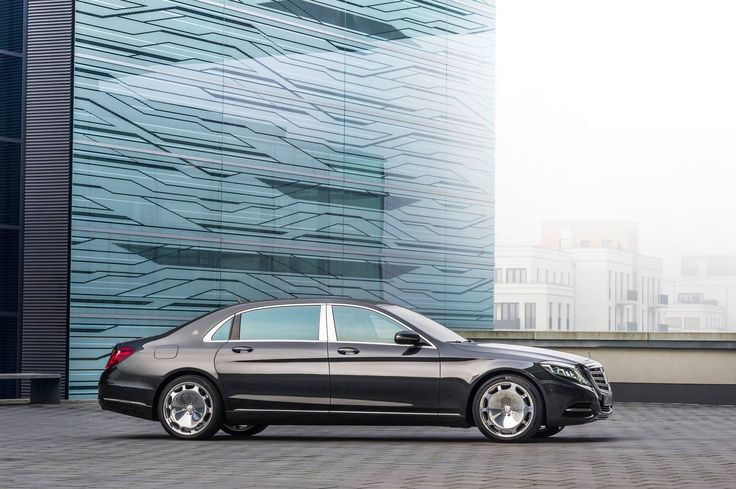 The New S 600 Maybach.