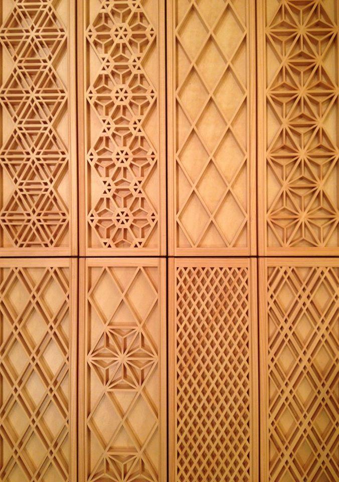 wooden frame pattern