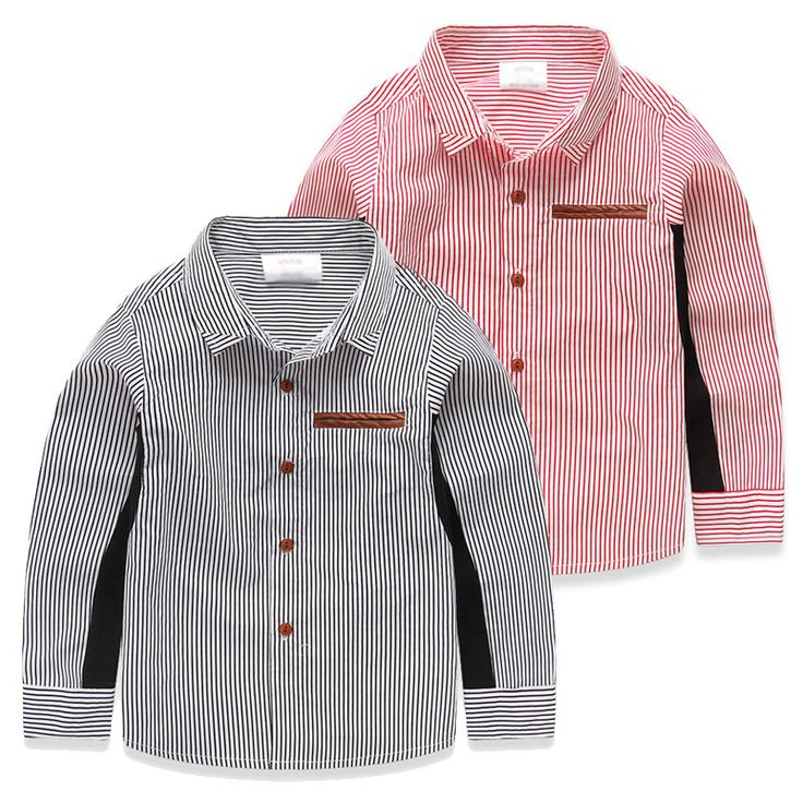 2015 осень полоса новый розничный мальчик детские рубашки с длинным рукавом дети рубашки мальчик дети рубашки рубашки детской одежды