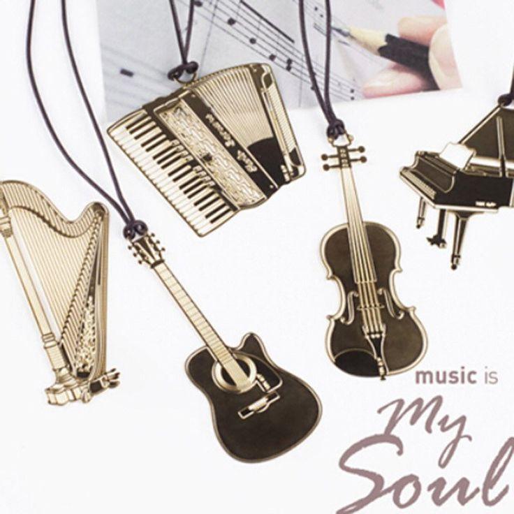 Music Is My Soul Metal Bookmark