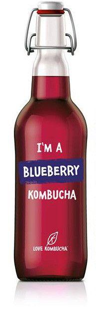 I'm a Blueberry Organic Kombucha