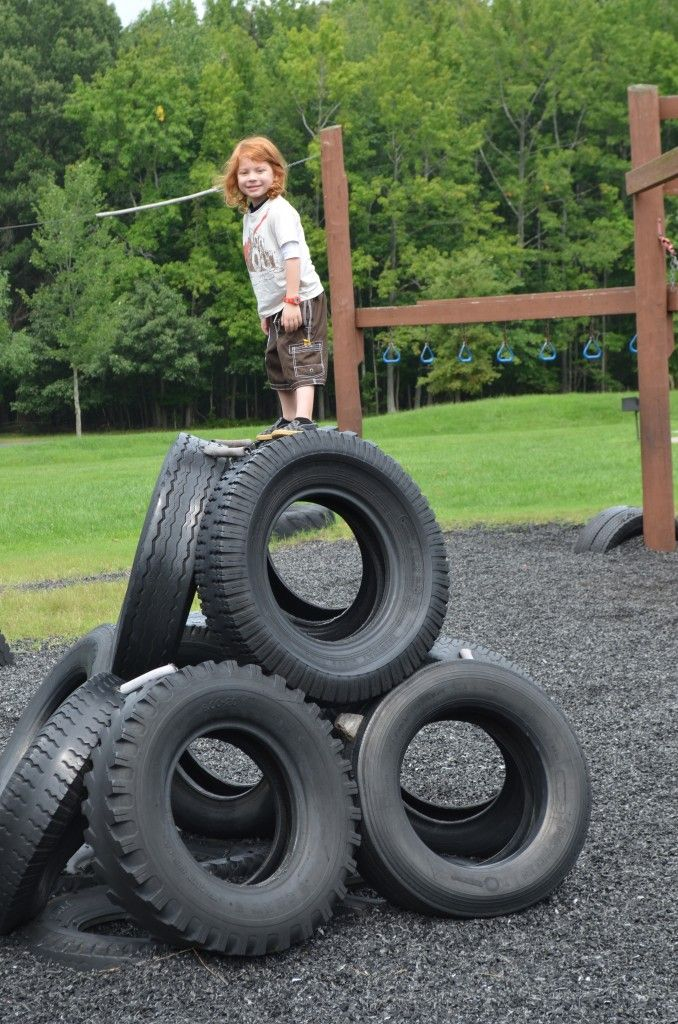 Wordless Wednesday- Recycled Tire Playground in Maryland
