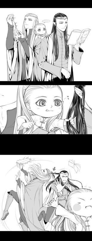 Legolas - Tales of Mirkwood - Peacemaker -- So cute!! >.<