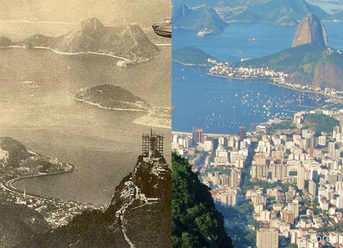 9 fotos que mostram como as principais cidades do mundo mudaram com o tempo