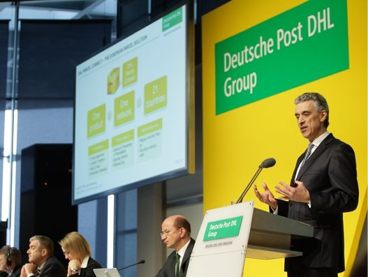Deutsche Post DHL Group reports record earnings for 2016