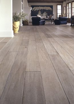 White Washed Flooring + Pickled Flooring