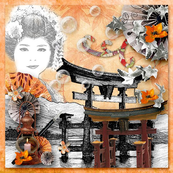 *Japanese style* by ButterflyDsign  http://digital-crea.fr/shop/index.php…