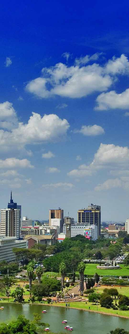 Nairobi City Center Kenya Africa